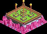 Park_4597 Acid Buttons Birthday Cake