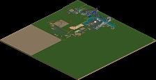 park_5076 Six Flags Adventure Kingdom - Incomplete
