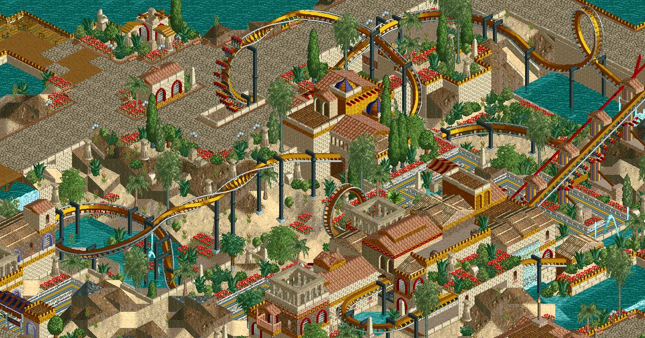 New Element - Screenshot - #fbf: Busch Gardens Europe (2005)