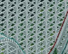 screen_3734 A Giantantic Racing Wooden Coaster at Megaworld Park!