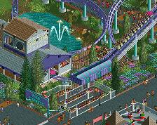 screen_6180 'Pixie Express' Small Family Coaster