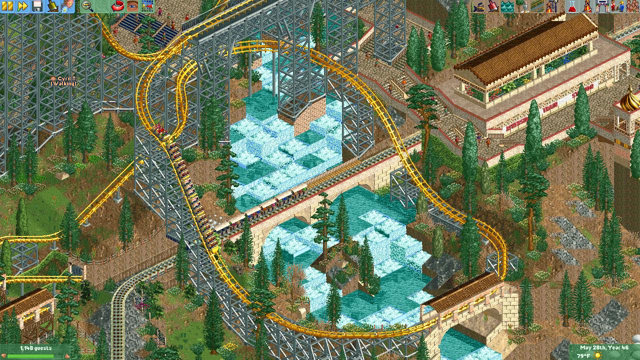 screen_6595 Morgan Hyper, Train and Waterfall